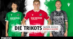 Macron & Hannover 96 launch new 2020/21 season kits!