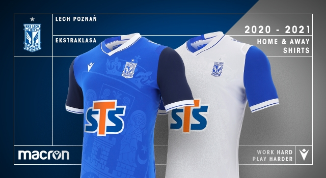 Macron Lech Poznan Present The New 2020 21 Season Kits