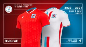 Macron Luxembourg Ff Have Presented The New Kits For The Red Lions