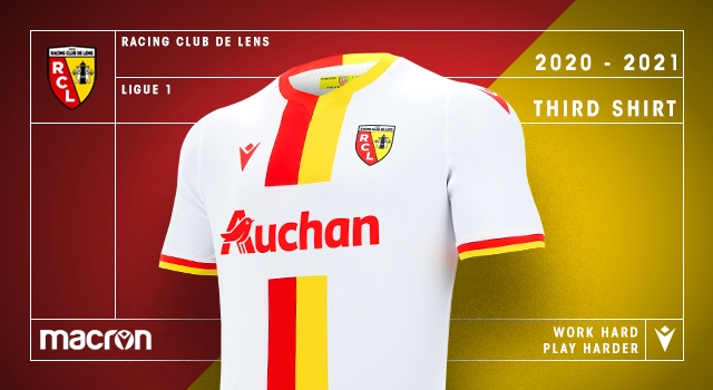 Macron Rc Lens Reveal The Clubs New Third Kit