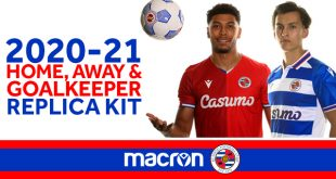 Macron launch new Reading FC kits, where tradition & modern blend!