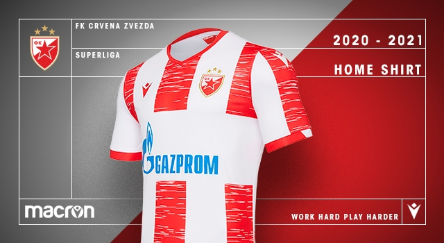 Macron Red Star Belgrade Reveal New Home Kit For 2020 21 Season
