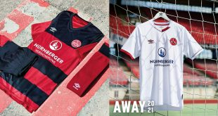 UMBRO & 1.FC Nürnberg unveil bold new 2020/21 home & away kits!