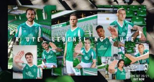 UMBRO & Werder Bremen unveils 2020/21 kits in tribute to their fans!