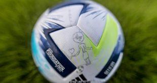 Children across Europe help design the 2020 UEFA Super Cup match ball!