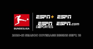 Bundesliga on ESPN+, ESPN kicks-off tonight with Bayern Munich vs Schalke 04!