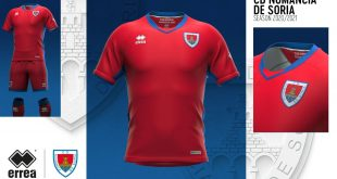 Errea pays homage to history of Soria town in new CD Numancia kits!