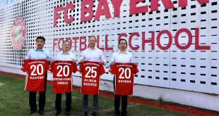 Cooperation with FC Bayern Football School Qingdao to be extended & further developed!
