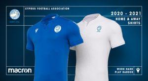 Macron Cyprus Football Association Present 2020 Kits