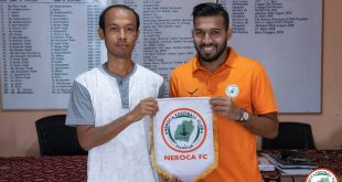 NEROCA FC sign goalkeeper Rahul Yadav!