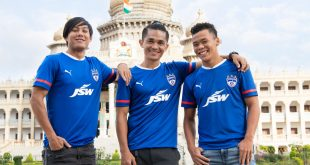 Bengaluru FC launch new PUMA home kit, JSW Group is principal sponsor!