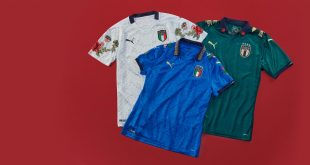 PUMA partners with The Football Gal to create one-off fashion inspired Italy kits!
