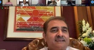 Praful Patel chairs AIFF Executive Committee meeting via video conferencing!