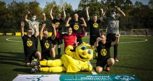 Special Olympics visit to to the BVB Evonik Football Academy!