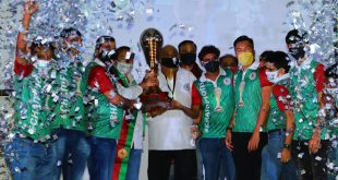 Parallel Sports: I-League champions trophy handed over to Mohun Bagan!
