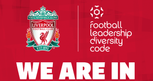 Liverpool FC signs up to FA's new Football Leadership Diversity Code!