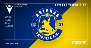 Macron & Asteras Tripolis FC to stay together until 2026!