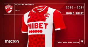 Dinamo Bucharest & Macron present club's new 2020/21 season home kit!