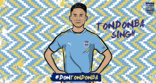Mumbai City FC announce the signing of Tondonba Singh!