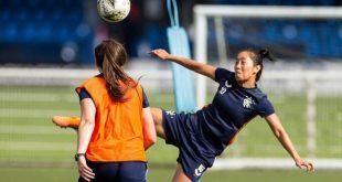 Bala Devi returns to footballing action for Rangers FC in Scotland!