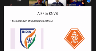AIFF-KNVB join hands to organise online courses for women coaches!