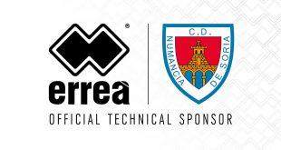 Errea Sport & CD Numancia technical partnership renewed!