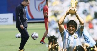 India head coach Igor Stimac: It was intimidating to play against Maradona!