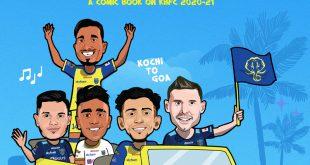 Kerala Blasters launch the the #YennumYellow Comic Book!