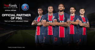 Hotforex becomes an official partner of Paris Saint-Germain!