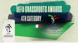 4th Category get UEFA Grassroots Awards for promoting disability football in Italy!