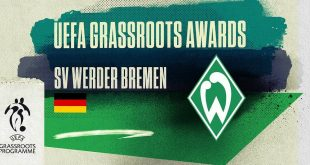 Werder Bremen rewarded for their social impact in their city!