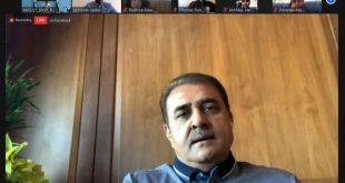 AIFF president Praful Patel & Sports Minister Kiren Rijiju interact with India U-17 girls via video conferencing!