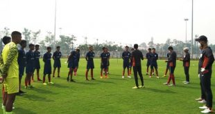 Indian Arrows arrive in Kolkata for IFA Shield!