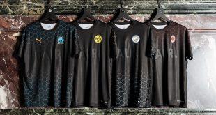 PUMA X BALR collection ft. AC Milan, Man City, BVB & Olympique Marseille!