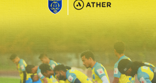 Ather Energy join Kerala Blasters as official partner!