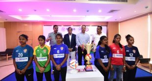 Jersey launch ahead of 2020/21 Odisha Women's League!