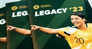 Football Australia unveils ambitious 2023 FIFA Women's World Cup Legacy plan to Government!
