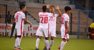 Out of top-6 I-League contention, Aizawl FC earn vital win against 10-man Chennai City FC!