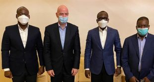 Schools football progress tops FIFA's Benin agenda!