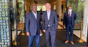 FIFA President's African visits continue!