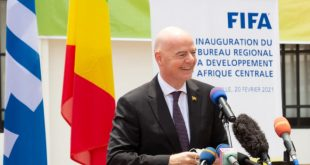 Brazzaville's FIFA Regional Development Office inaugurated!