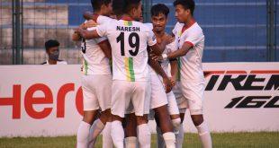 Bidyashagar hattrick helps TRAU steam past Mohammedan Sporting!