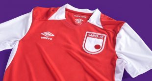 UMBRO launch special Independiente Santa Fe jersey!