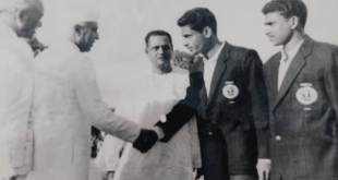 AIFF condoles the demise of former Olympian Ahmed Hussain!