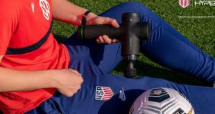 Hyperice and U.S. Soccer launch multiyear partnership!