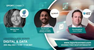 First Speakers for iSportConnect's Digital & Data eMasterclass revealed!