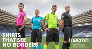 Europe on Macron shirts for UEFA EURO 2020 match officials!