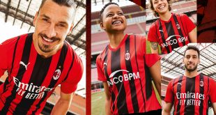 PUMA & AC Milan unveil new home kit celebrating modern Milan!