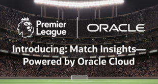Premier League selects Oracle for new advanced analytics!