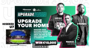 Hisense kicks off #UpgradeYourHome campaign for UEFA EURO 2020!